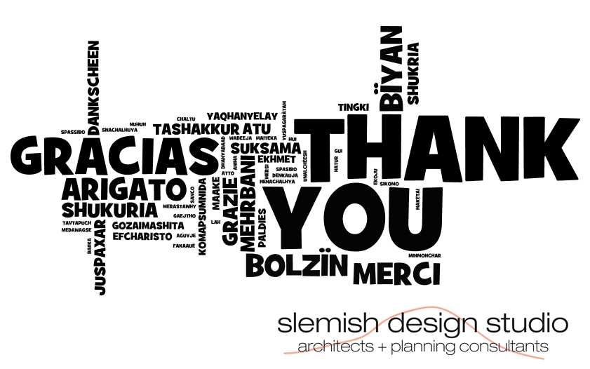 thanks from slemish design studio - ballymena architects