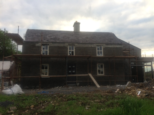 ballymote co. sligo extension renovation
