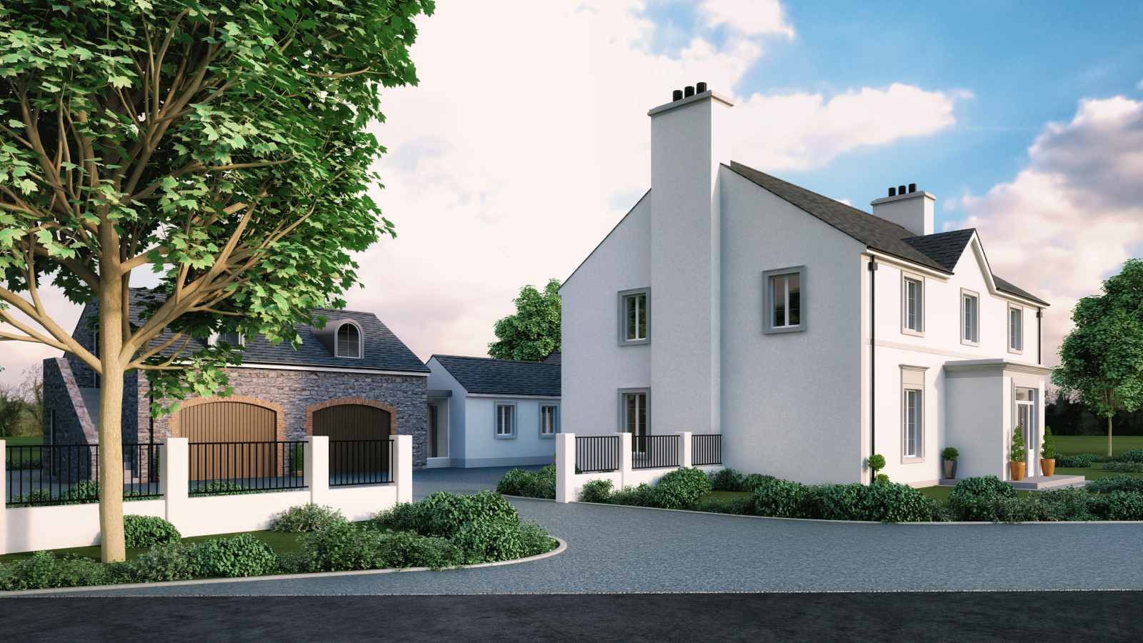 Traditional Randalstown House Architects Slemish Design