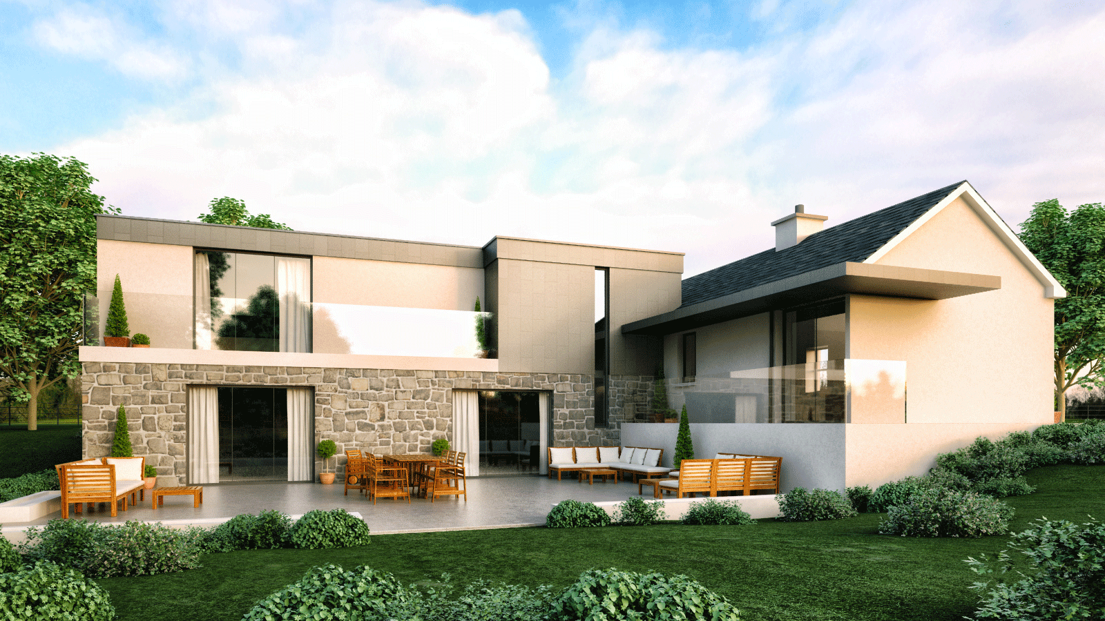 Architects ballymena antrim northern ireland belfast for Modern house london