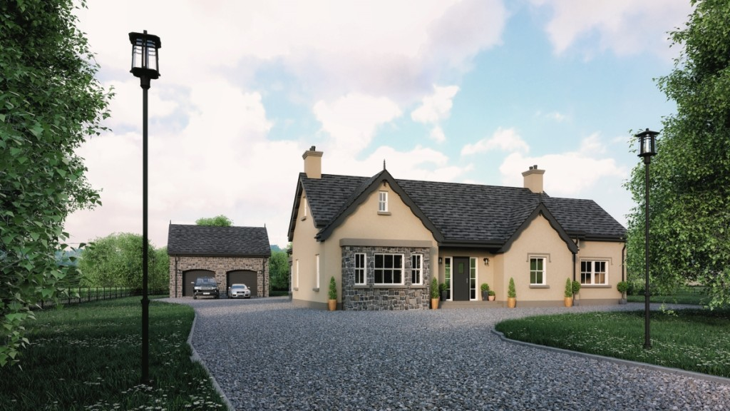 traditional dunloy house ballymoney architects