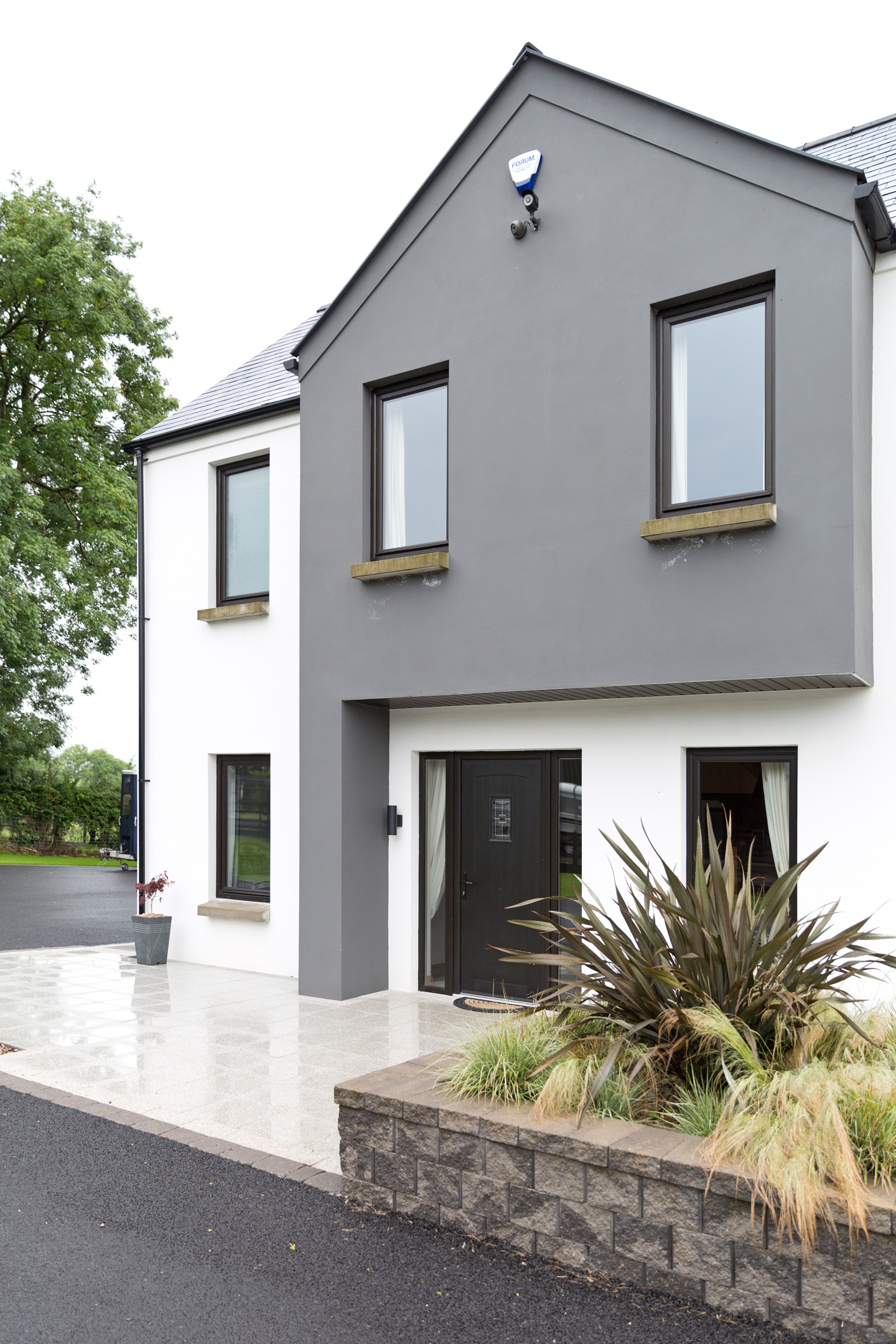 modern home outside Dunadry Antrim
