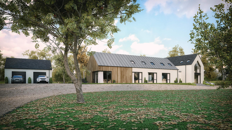 Modern House Straffan, County Kildare | Slemish Design ...