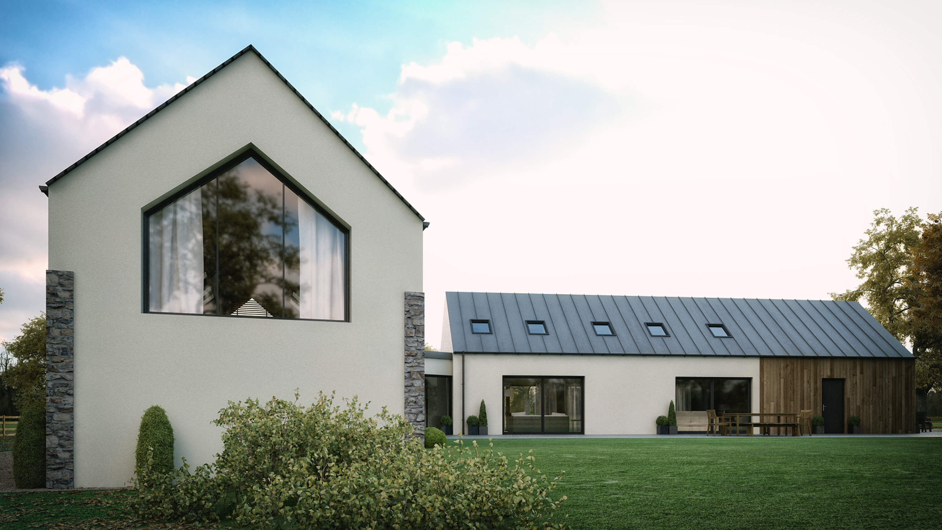 modern house straffan kildare architects (1)
