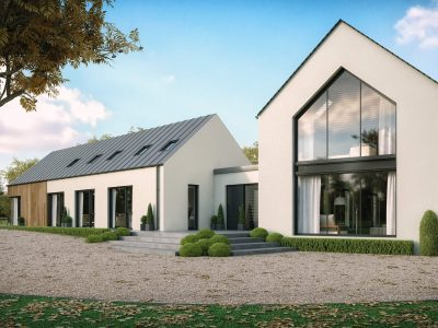 modern house in Staffan, County Kildare, Ireland