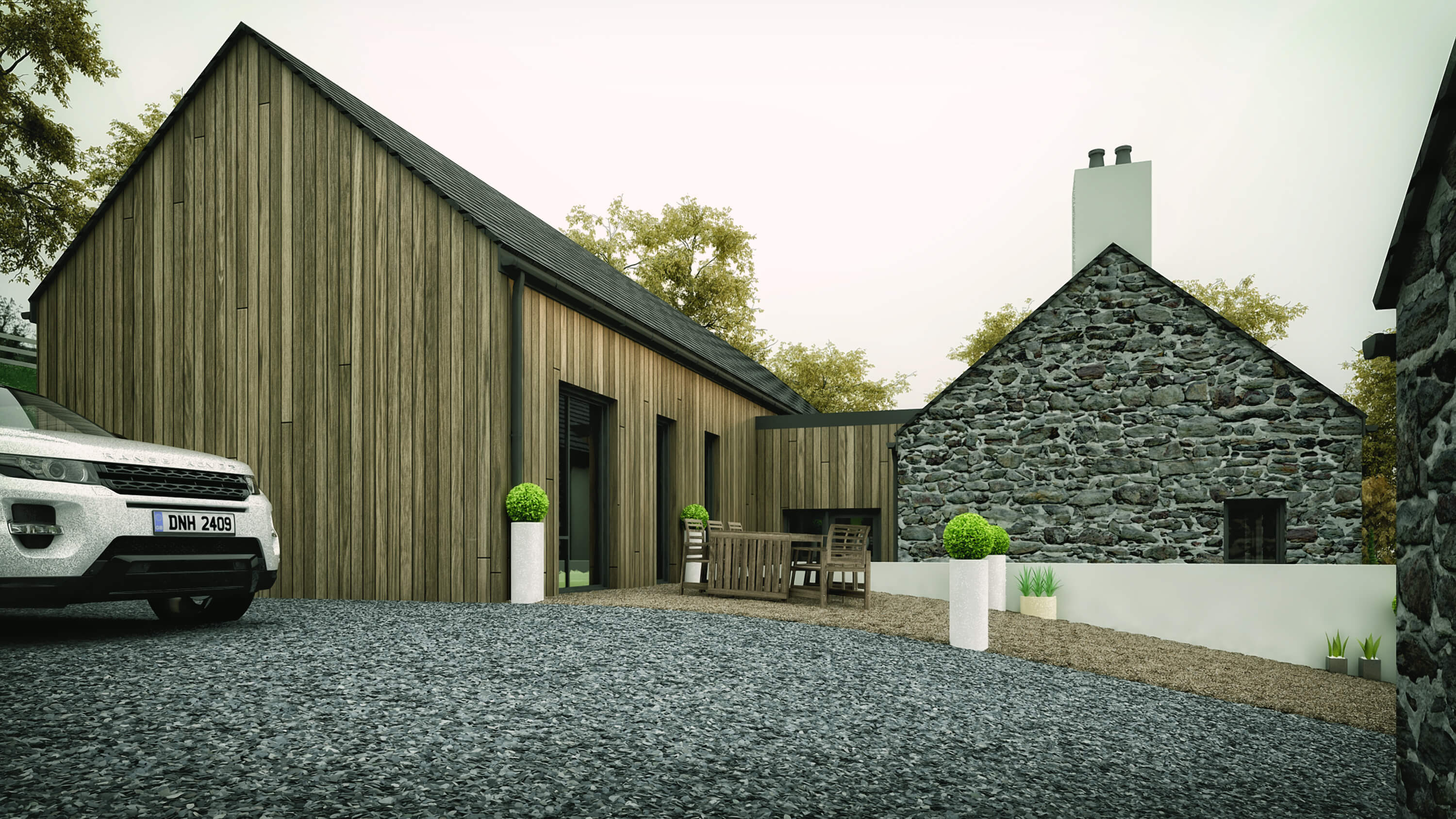 quarrytown modern house ballymena