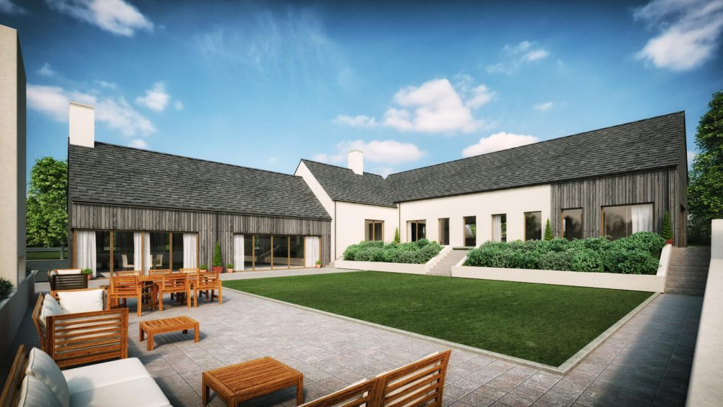 case study martinstown house architects ballymena