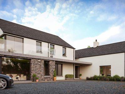 modern house Ards Peninsula