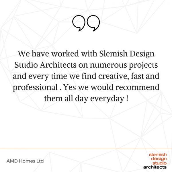 slemish design studio architects clients testimonials