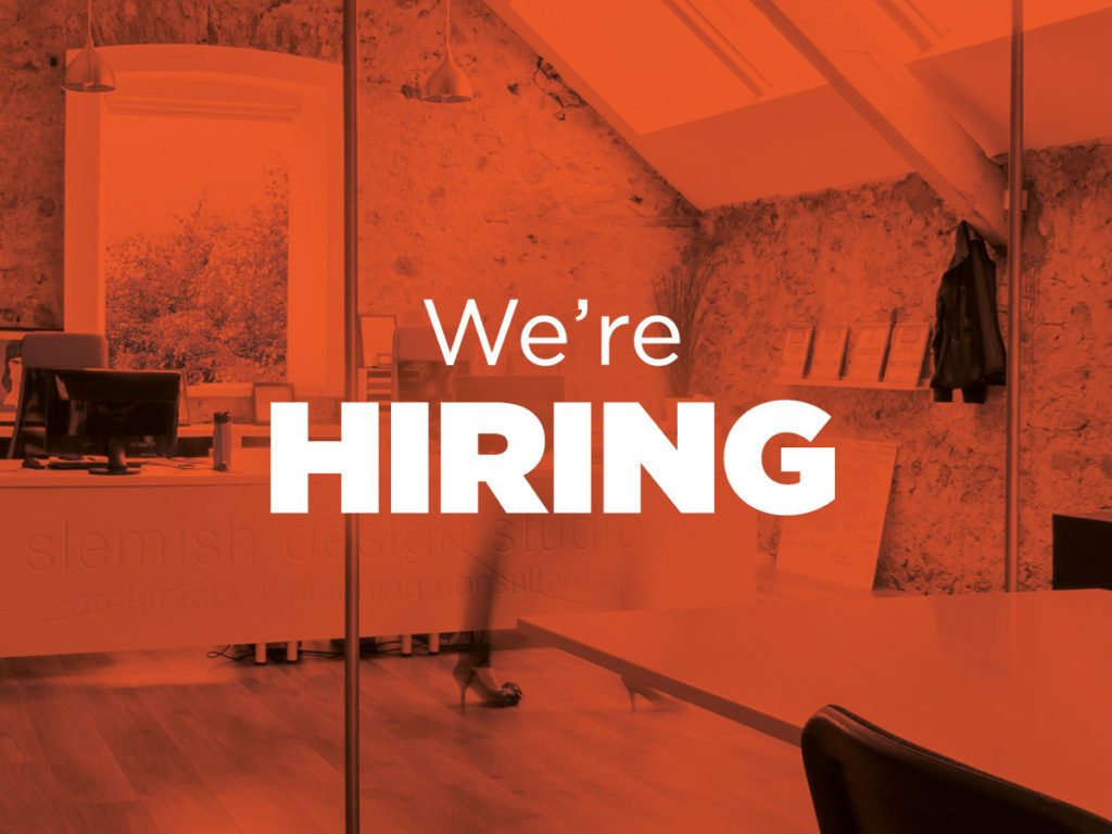 slemish design studio is hiring!!