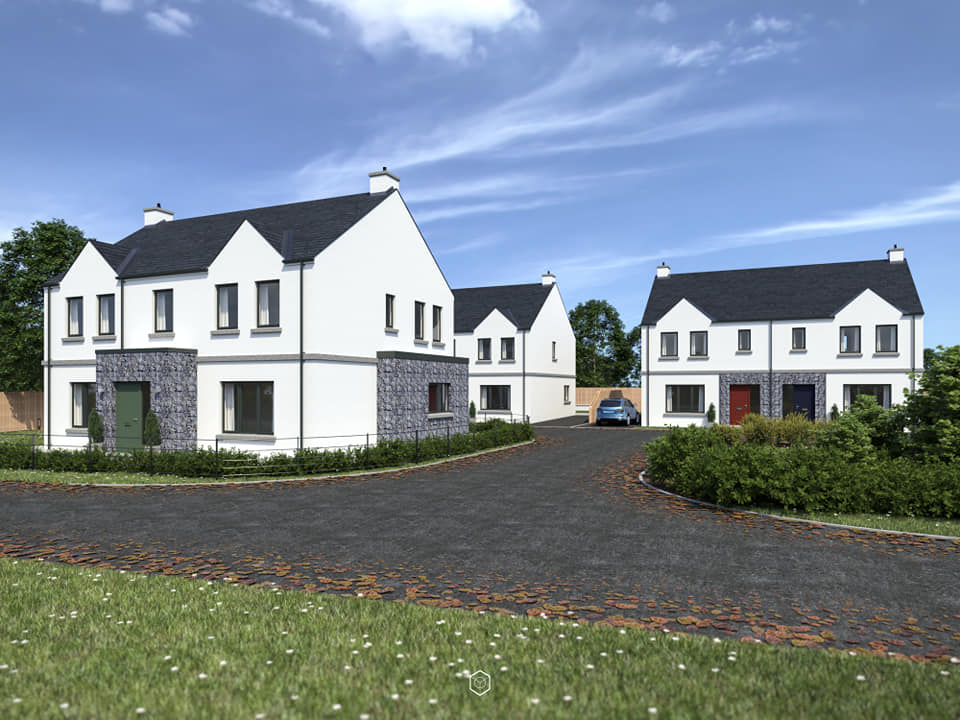 woodtown manor ballymena, an existing new turnkey