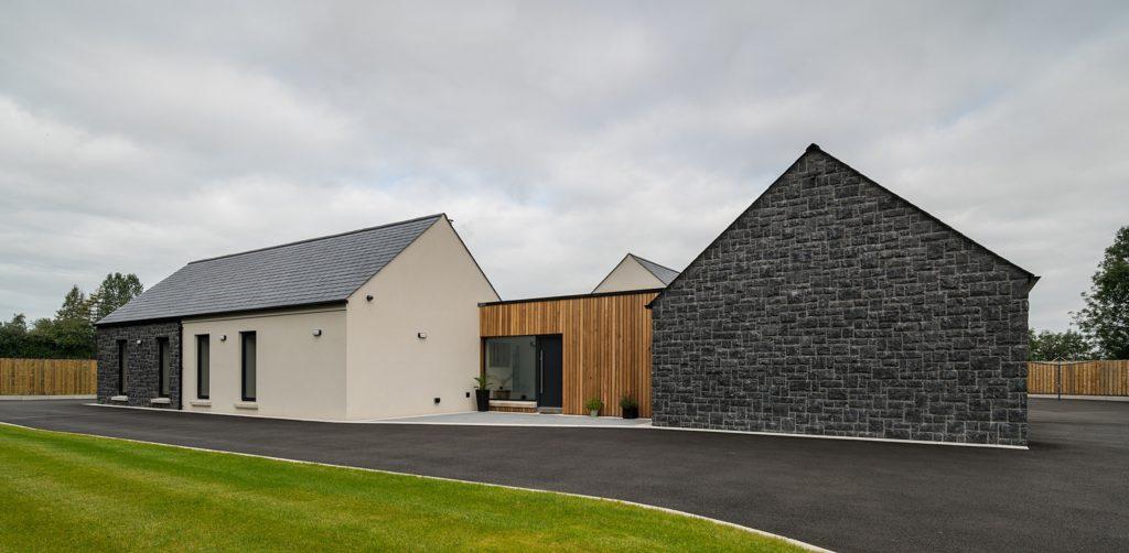 modern house in ballymena by slemish design studio architects