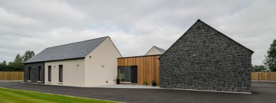 modern house in ballymena by slemish design studio architects