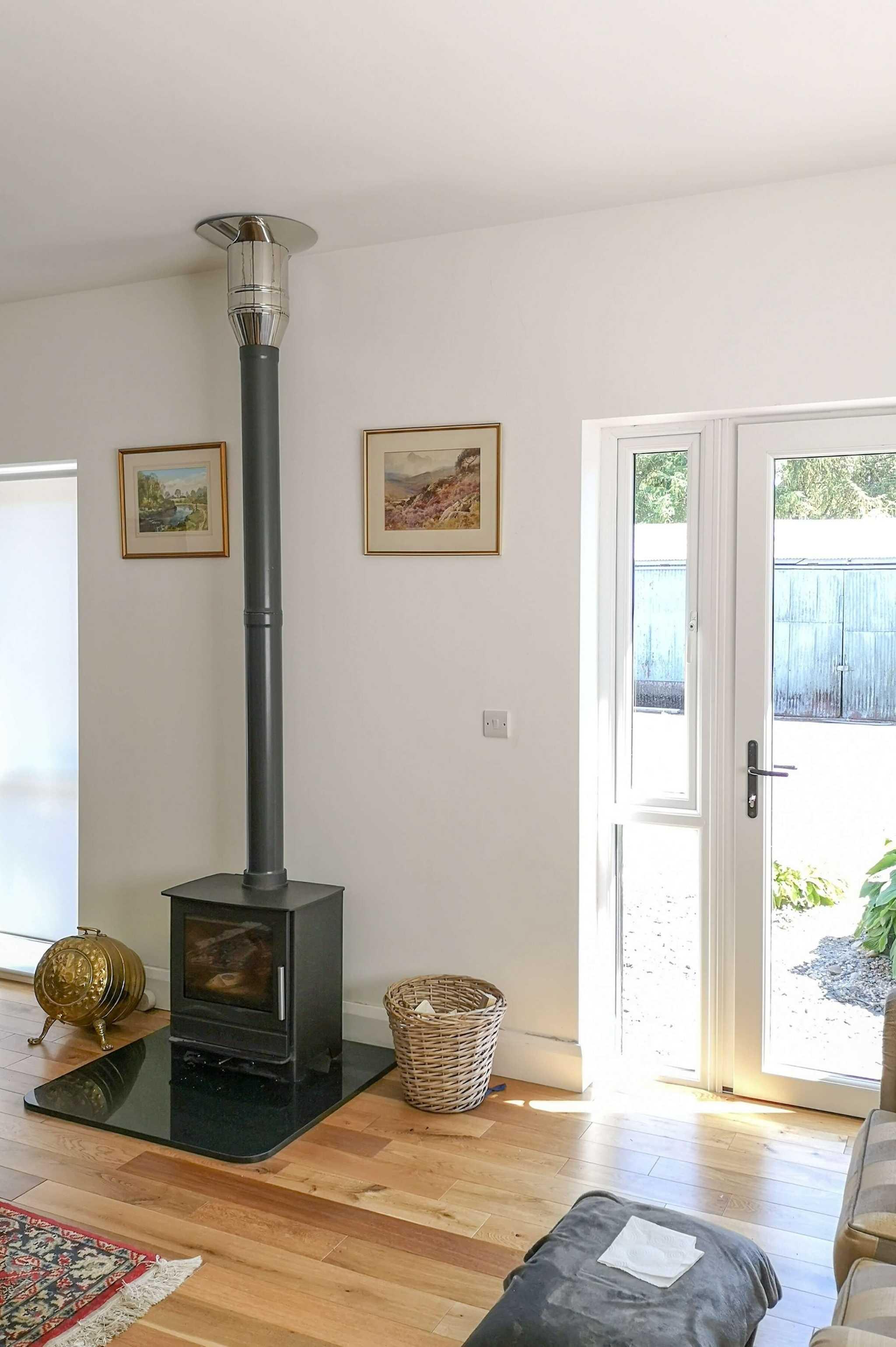 granny flat wood burner stove