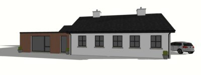 concept image of athenry house extension