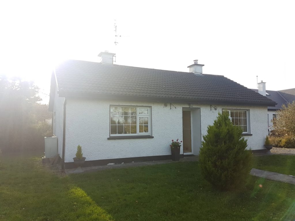 front elevation of house in athenry galway for house extension and renovation