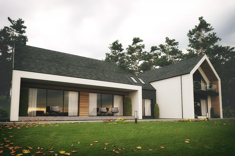 Modern House on the edge of Slieve Gullion Newry
