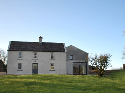 modern extension to 1800's house