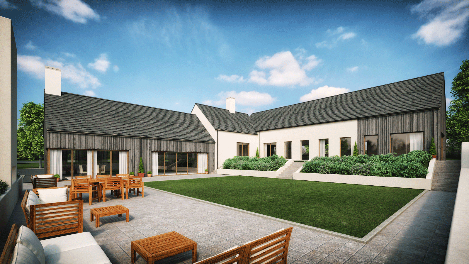 Architects ballymena antrim northern ireland belfast for Modern architecture plans