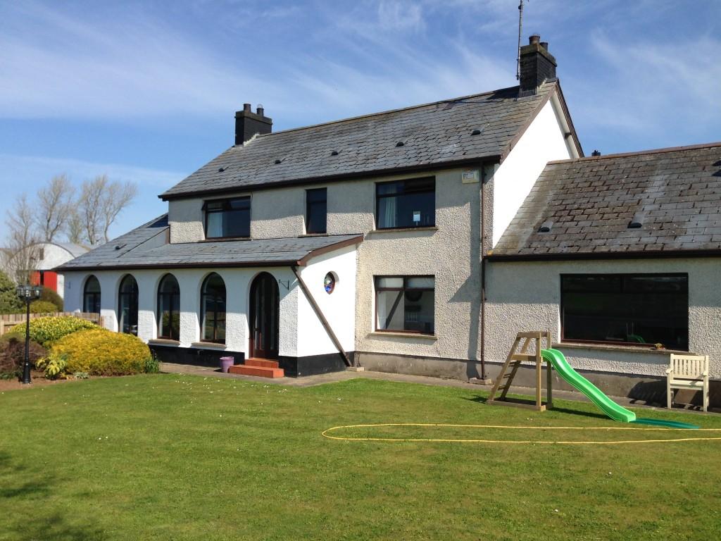 modern renovation Cullybackey Renovation Ballymena architects
