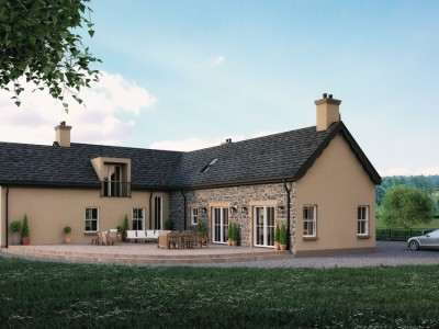 traditional cottage dunloy ballymoney architects