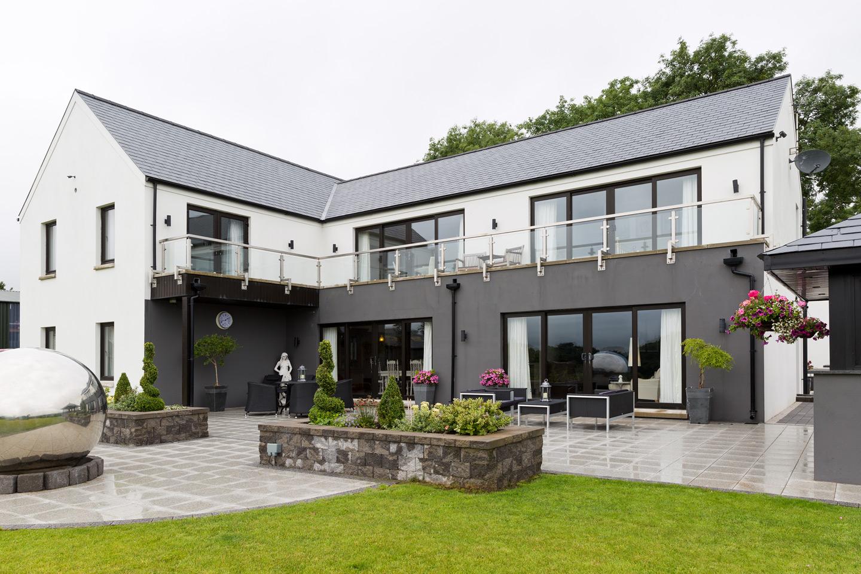 modern home outside Dunadry Antrim
