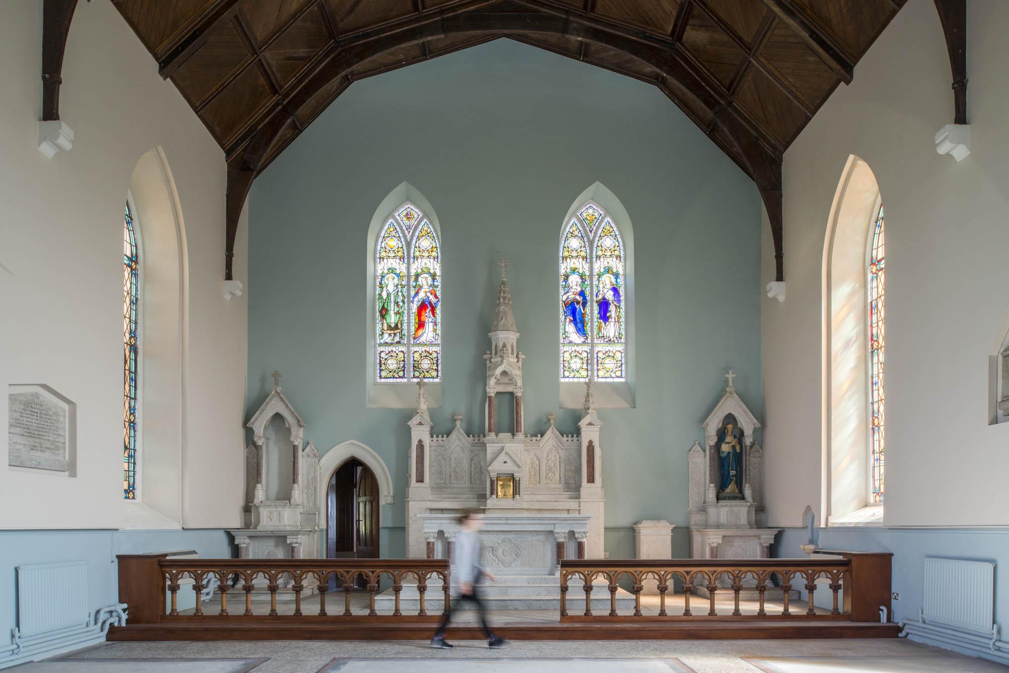 internal image of church