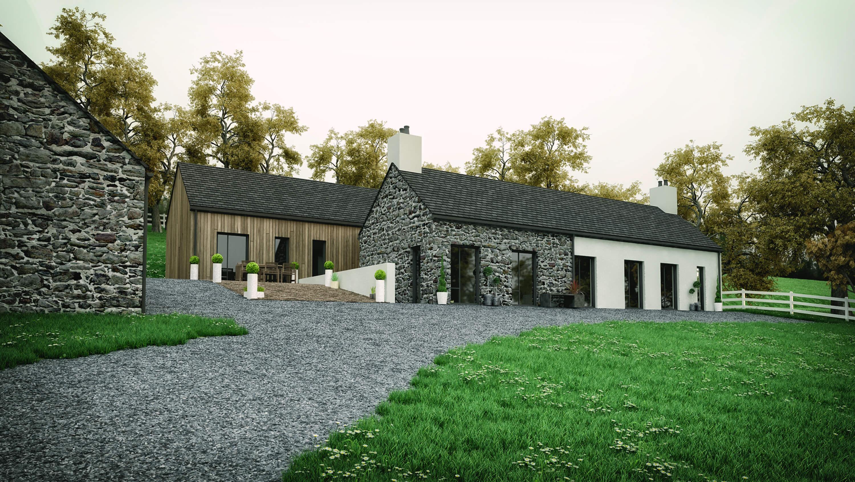 quarrytown modern house ballymena