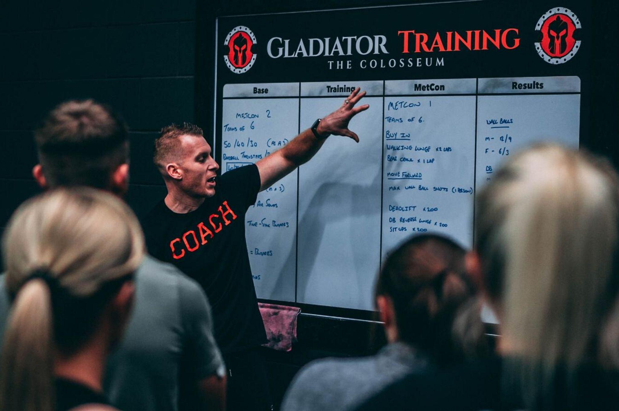 gladiator coach jonny rogers