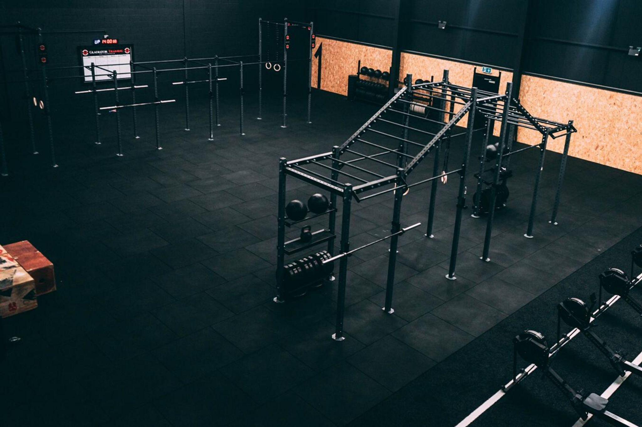 blkbox equipment in gladiator gym ballymena